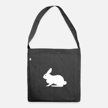 Sit Sitting rabbit - Shoulder Bag made from recycled material