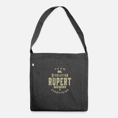 Rupert Rupert! T-shirts and Hoodies for you - Shoulder Bag made from recycled material