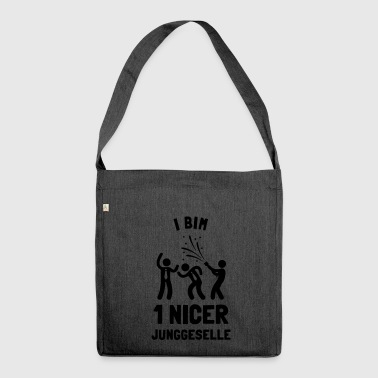 Junggeselle - Schultertasche aus Recycling-Material