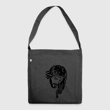 Jesus Christ - Shoulder Bag made from recycled material