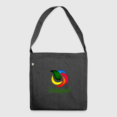 Ecological Logo - Shoulder Bag made from recycled material