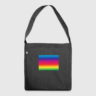 Rainbow, rainbow - Shoulder Bag made from recycled material