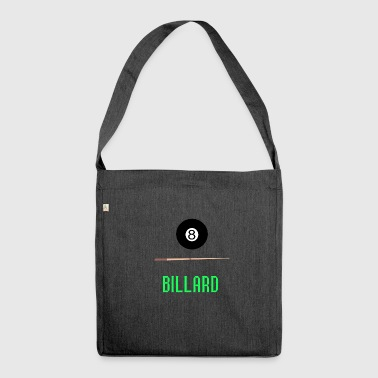Pool Billiards 8Ball Snooker Cue Hobby Gifts - Shoulder Bag made from recycled material