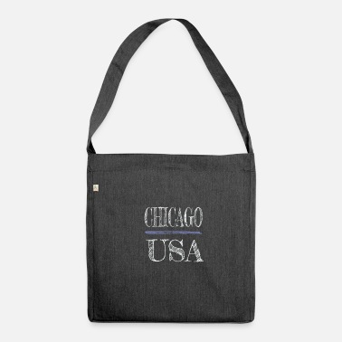 Chicago Usa America - Shoulder Bag recycled