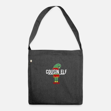 Elf Cousin elf - Shoulder Bag made from recycled material