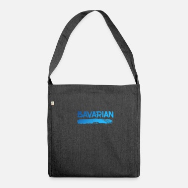 Bavarian bavarian - Shoulder Bag made from recycled material