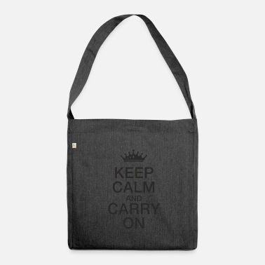 Keep Calm Keep calm - Borsa in materiale riciclato