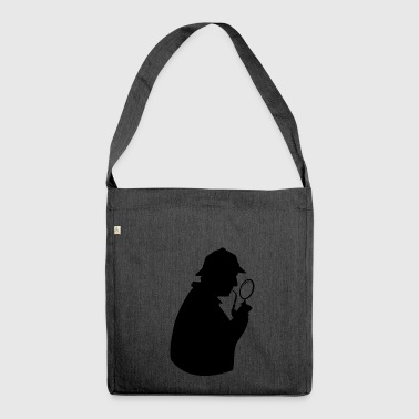 Detective detective - Shoulder Bag made from recycled material