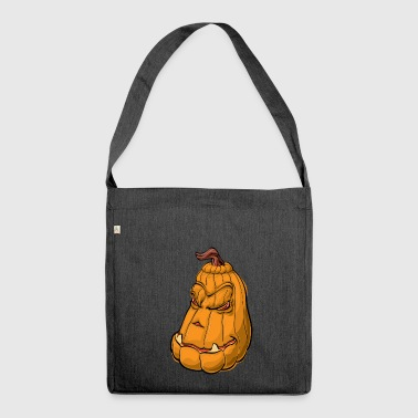 pumpkin and pumpkin - Shoulder Bag made from recycled material