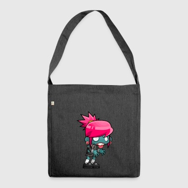 Zombie Teen - Schultertasche aus Recycling-Material