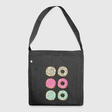 Donuts - Schultertasche aus Recycling-Material