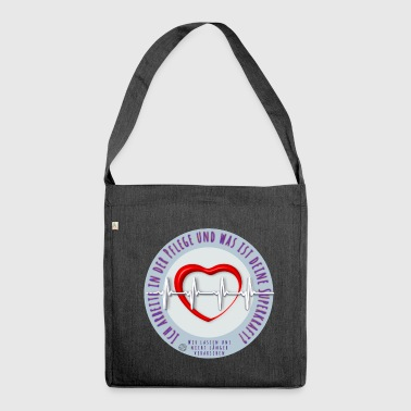 Nurse Nursing, Nursing, Nursing - Shoulder Bag made from recycled material
