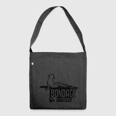 BONDAGE FLYFISHING - Shoulder Bag made from recycled material