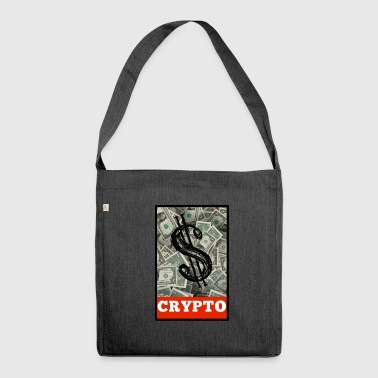 Regalo di design Crypto Dollar Obey - Borsa in materiale riciclato