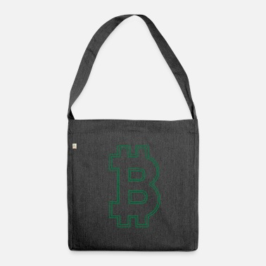Bitcoin Bitcoin bitcoin BITCOIN Bitcoin - Shoulder Bag recycled