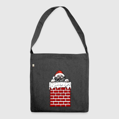 Santa - Shoulder Bag made from recycled material