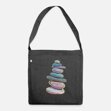 Stoner Stones - Schultertasche aus Recycling-Material