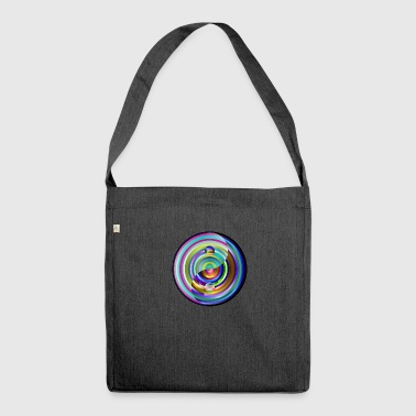 yin-yang - Borsa in materiale riciclato