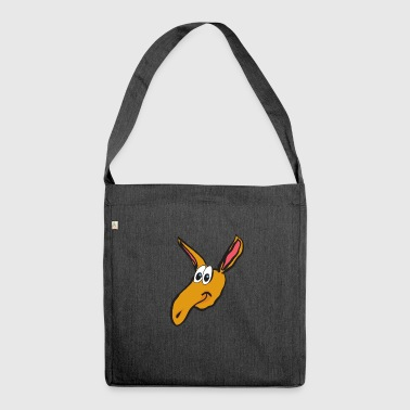 aardvark earth pig6 - Shoulder Bag made from recycled material