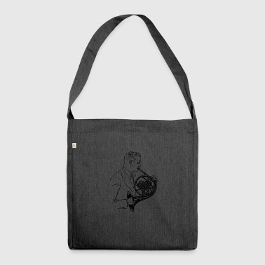 horn - Shoulder Bag made from recycled material