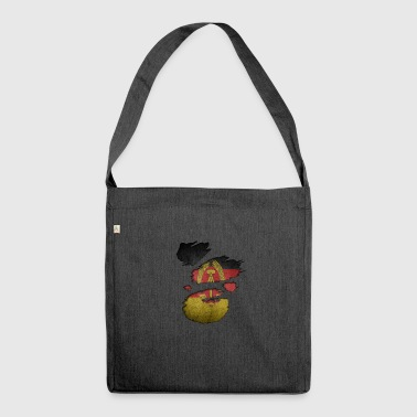 Roots Super country i love ddr democratic republ - Shoulder Bag made from recycled material