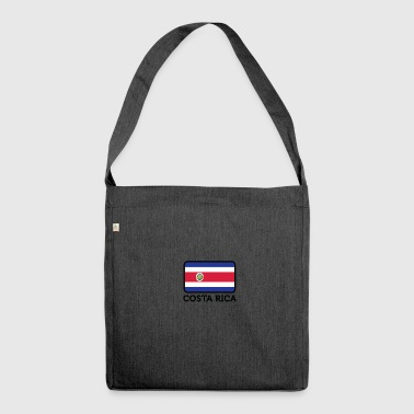 National Flag Of Costa Rica - Shoulder Bag made from recycled material