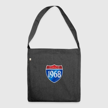 Since 1968 - Schultertasche aus Recycling-Material