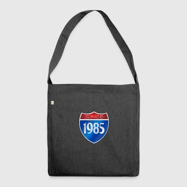 Since 1985 - Schultertasche aus Recycling-Material