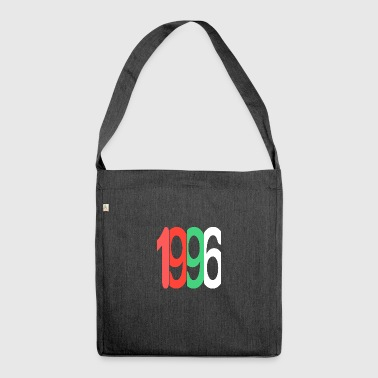 Established 1996 - Schultertasche aus Recycling-Material