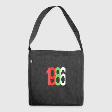 Established 1986 - Schultertasche aus Recycling-Material