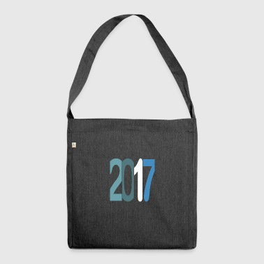Established 2017 - Schultertasche aus Recycling-Material