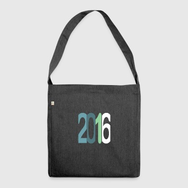 Established 2016 - Schultertasche aus Recycling-Material