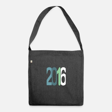 Established Established 2016 - Schultertasche aus Recycling-Material
