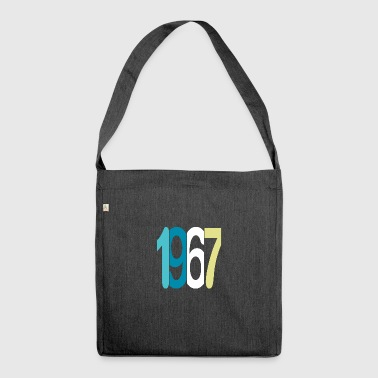 Established 1967 - Schultertasche aus Recycling-Material