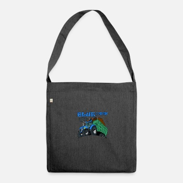 Motion Blue in motion - Shoulder Bag made from recycled material