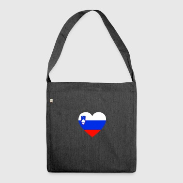 Love love gift SLOVENIA Slovenia - Shoulder Bag made from recycled material