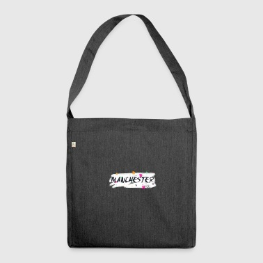 Manchester # - Shoulder Bag made from recycled material