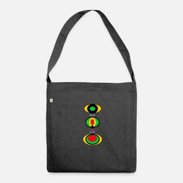 Jewelry Exotic jewelry - Shoulder Bag made from recycled material
