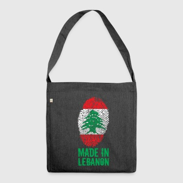 Fabriqué au Liban / Made in Lebanon اللبنانية - Sac bandoulière 100 % recyclé