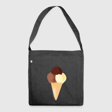 hazelnut hazelnut veggie vegetables fruits5 - Shoulder Bag made from recycled material