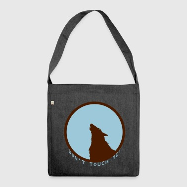 Wolf wolf - Shoulder Bag made from recycled material
