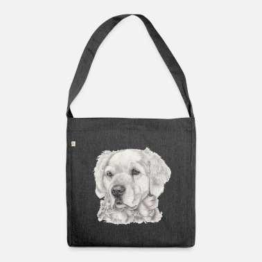 Golden Retriever Golden retriever - Sac bandoulière 100 % recyclé