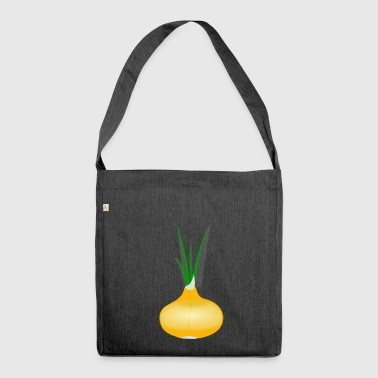 onions halloween vegetables vegetables8 - Shoulder Bag made from recycled material