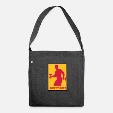 Worker Iron Worker - FITNESS - Borsa in materiale riciclato