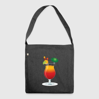 Caribbean Cocktail - Shoulder Bag made from recycled material