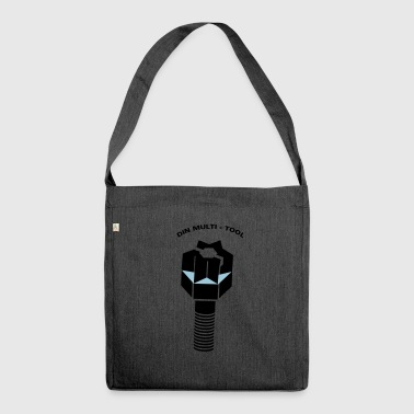 DIN MULTITOOL - Shoulder Bag made from recycled material