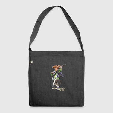 Chanting Chanterelle - Shoulder Bag made from recycled material