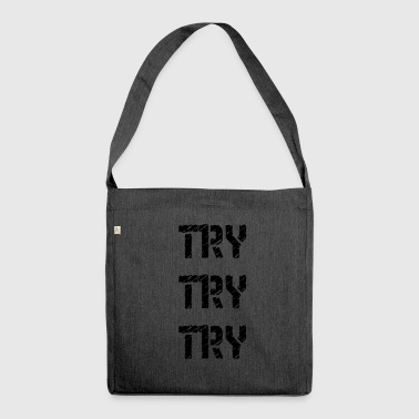 Try Try - Shoulder Bag made from recycled material