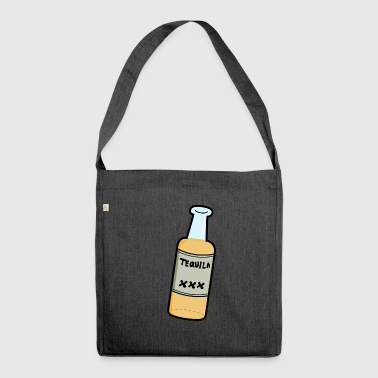 Tequila liquor bottle of alcohol - Shoulder Bag made from recycled material