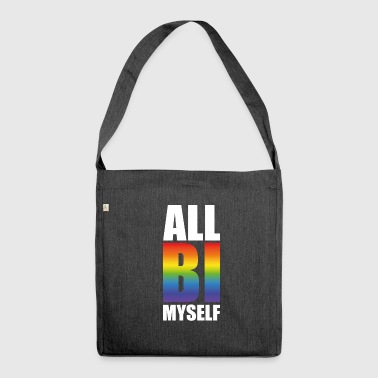 LGTB Bi Be yourself - Shoulder Bag made from recycled material